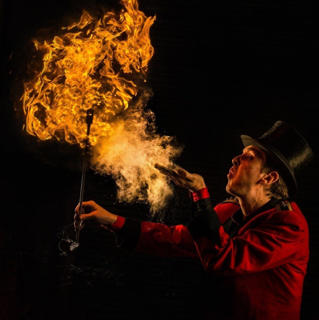 Circus Fire Performer